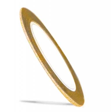 Лента для ногтей 6 Color Line золотая матовая