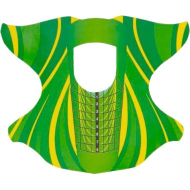 Формы для ногтей Зелёные 30 шт. Cosmake