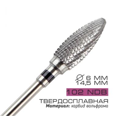 102 NDB Фреза для маникюрной дрели твердосплавная