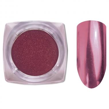 02 Зеркальный блеск ХРОМ втирка для ногтей 0,2 гр. Cosmake Розовый