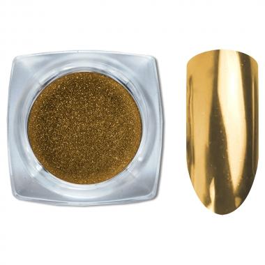 03 Зеркальный блеск ХРОМ втирка для ногтей 0,2 гр. Cosmake Золото