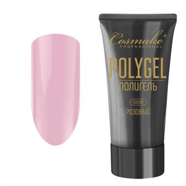 02 Полигель розовый 30 мл Cosmake