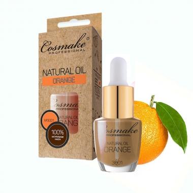 3001 Масло Апельсин для ногтей и кутикулы натуральное 16 мл Cosmake