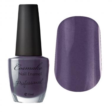 009 Лак для ногтей Professional Cosmake 16мл Серо-Коричневый с блестками