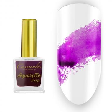 04 Краска Aquarelle Drops Сиреневая Cosmake 9 мл