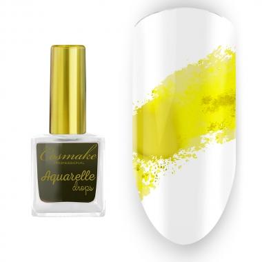 06 Краска Aquarelle Drops Желтая Cosmake 9 мл