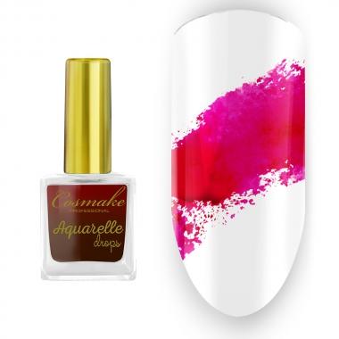 07 Краска Aquarelle Drops Пурпурная Cosmake 9 мл