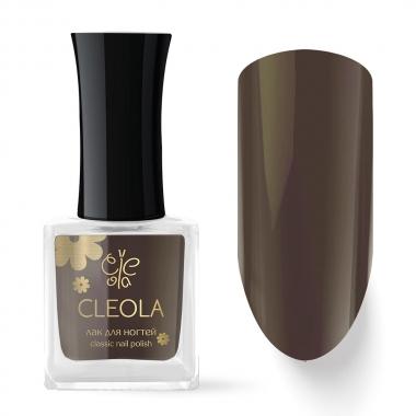 78 Лак для ногтей Cleola 9 мл Серо-Коричневый