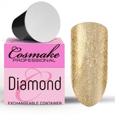 Z104 Гель-лак жидкая фольга Золото Diamant  5г Cosmake Premium
