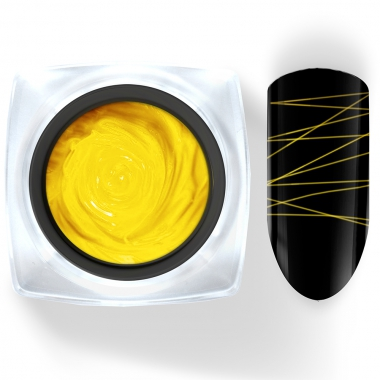 027 Гель-краска Паутинка 5г желтая Cosmake Premium