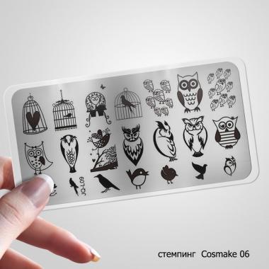 06 Пластина для Стемпинга Cosmake