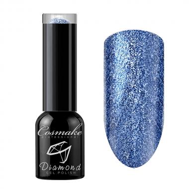106 Гель лак жидкая фольга Diamond 6мл Cosmake Синий