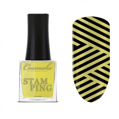 05 Лак для Стемпинга  9мл Cosmake желтый
