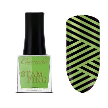 06 Лак для Стемпинга  9мл Cosmake светло-зеленый