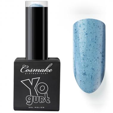 093 Гель лак Yogurt с липким слоем 9мл  Cosmake серо-голубой